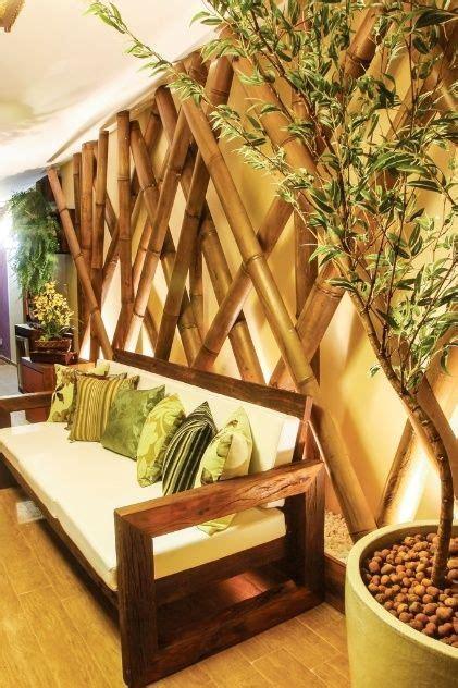 Bamboo wall covering | bamboo matting for interior walls, ceiling and tiki bar. DIY Bamboo Decor And Beautify The House