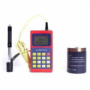 Richter scale hardness tester Portable Rockwell/brinell ...