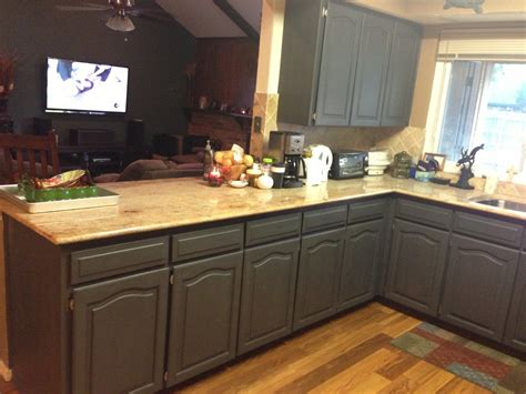 Brown Marble Countertop After Remodel Kitchen Design With