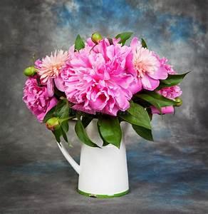 Beau Bouquet De Fleur : beau bouquet des fleurs pivoines image stock image du ~ Dallasstarsshop.com Idées de Décoration