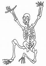 Skeleton Coloring Pages Human Printable Sheets Bones Halloween Skeletons Bestcoloringpagesforkids Anatomy Pirate Sketch Books Dinosaur Getcoloringpages Template Popular sketch template