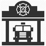 Fire Icon Station Department Emergency Service Services
