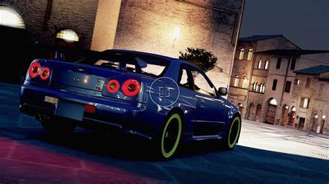 Nissan Skyline R34 Drifting Compilation