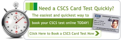 cscs card test training health  safety test