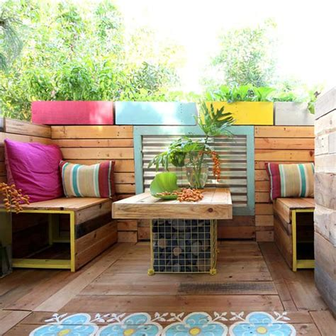 26 awesome outside seating ideas you can make with