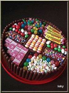 Deco Bonbon Anniversaire : id e d coration gateau avec bonbons ~ Melissatoandfro.com Idées de Décoration