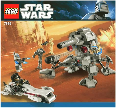 lego battle  geonosis instructions  star wars