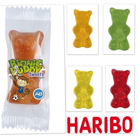 haribo ours xxl 1 bonbon par sachet promo publicitaire