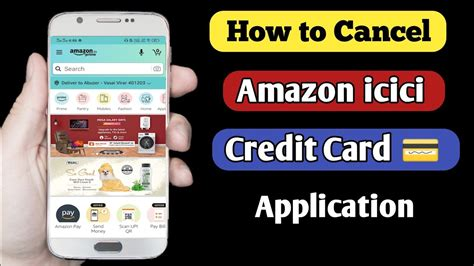 Apply for amazon store card. How to cancel amazon icici credit card Application - YouTube