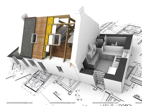 Home Design Interior And Exterior by Interior Exterior Plan Complementing Interior And