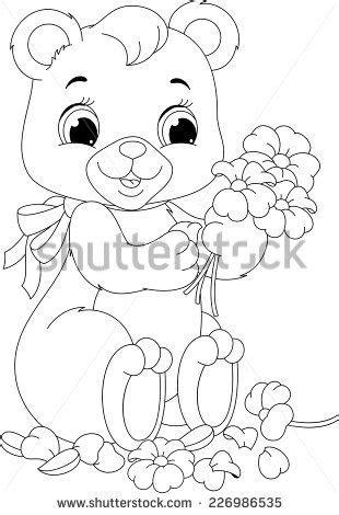 Bear coloring page | Dibujos de colores, Dibujos, Páginas