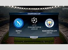 NAPOLI VS MANCHESTER CITY Champions League 1718 0111