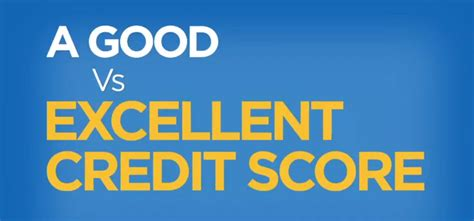 good  excellent credit scores freecreditscorecom