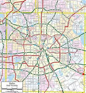 Large Dallas Maps for Free Download and Print High