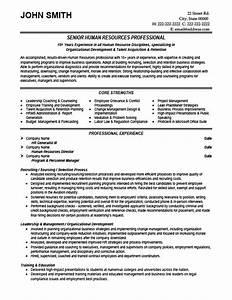 senior hr professional resume template premium resume With hr resume template