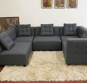 Gray sectional sofa for sale cleanupfloridacom for Sectional couch individual pieces