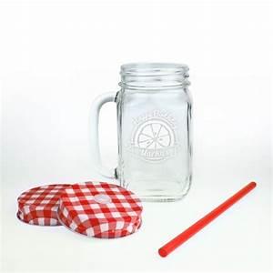 Glas Mit Schraubdeckel : glas mit deckel und strohhalm mason jars zum geburtstag ~ Eleganceandgraceweddings.com Haus und Dekorationen