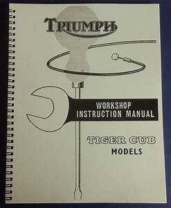 Triumph Tiger Cub Service Manual T20  U2013  8  U2013 Published 1964