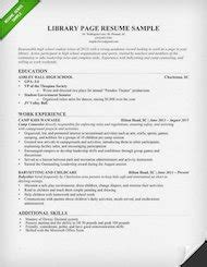 library resumes cover letters librarian resume sle writing guide rg