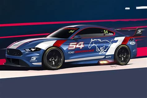 ford performance offers teaser of supercars mustang supercars autosport