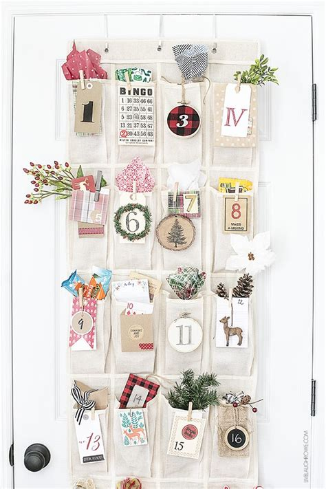 woodland inspired advent calendar printable number tags