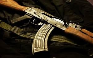 gun wallpaper, romania akm ak-47 weapons army military ...