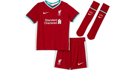 Nike Liverpool FC Home Jersey Kit 20/21 Youth • Se priser ...