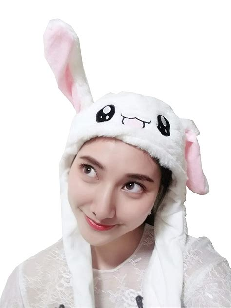 Buy the best Moving Ears Bunny Hat Plush Toy | HCS Gadgets