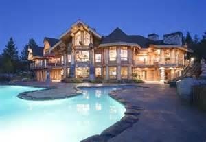 Beautiful Luxury Log Cabin Homes