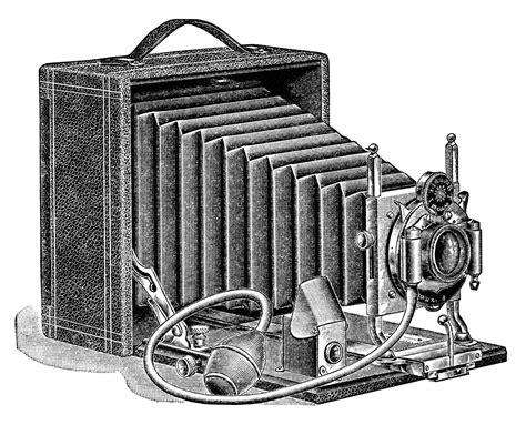 14347 photographer clipart vintage aged paper ephemera fashioned image black and