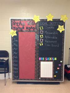 High School Library Design Read 180 Goal Setting Board Language Arts Pinterest