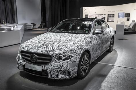 Mercedes Reveals Tech Secrets Of New E-class