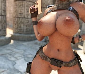 Nackt fake croft lara Angelina Jolie