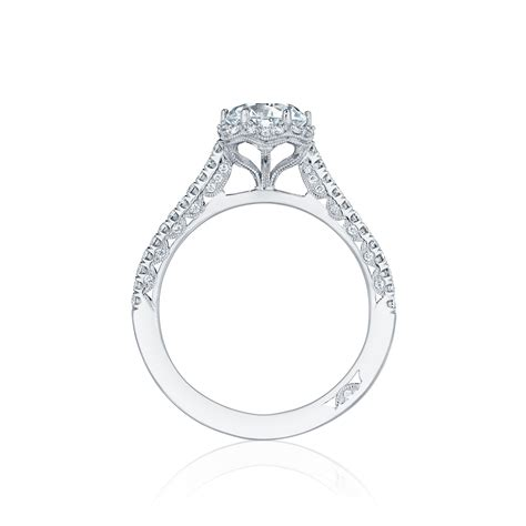 crescent ht254715rd65 engagement ring tacori