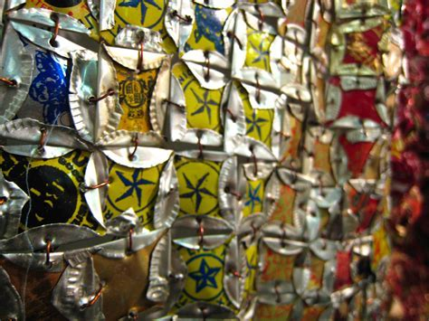 At the Armory Show: Installations by El Anatsui [food art