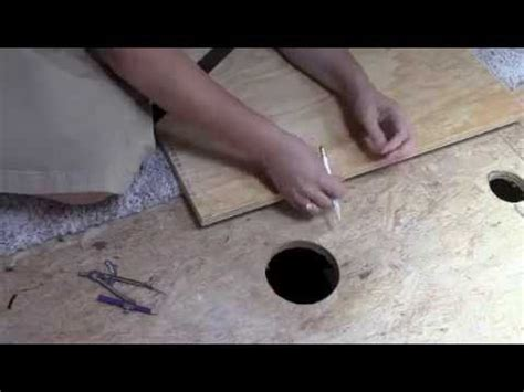 Patching Small Holes In Floor Youtube