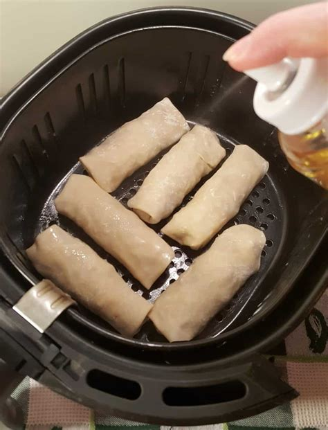 fryer egg air rolls roll york recipes pork fried shrimp recipe place deep greased thisoldgal easy than calories eggs airfryer