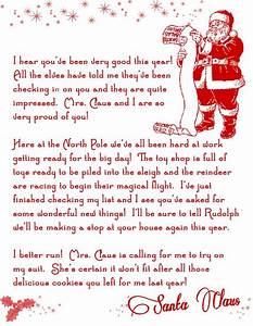 printable letters letter from santa and letters on pinterest With santa letters from kids