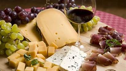 Cheese Wine Grapes Bacon Considered Meat Allwallpaper