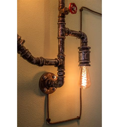 applique da muro applique da muro amarcords vintage con tubi idraulici