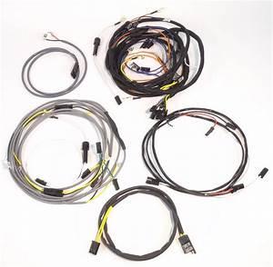 John Deere 4020 Diesel Row Crop Complete Wire Harness  Up