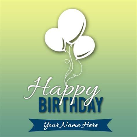 write   birhtday card image  balloon