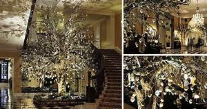 A Look At The Claridge's Christmas Trees from 2009-2016