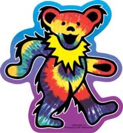 Grateful Dead Bear Stickers