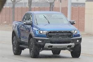 Ford Ranger Raptor : 2019 ford ranger raptor caught lurking on us roads news ~ Medecine-chirurgie-esthetiques.com Avis de Voitures