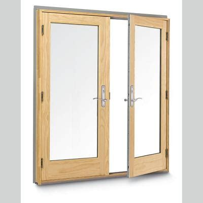 andersen 400 series wood hinged inswing patio door
