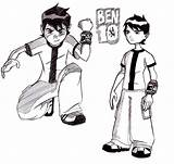 Ben Coloring Pages Printable Boys sketch template