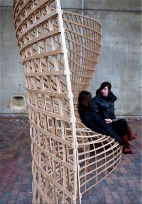 steam bent wood lattice morphology achimmengesnet