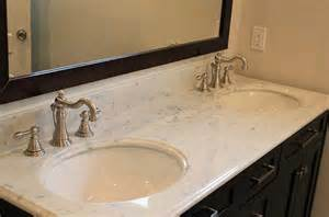 Best Sink Material For Bathroom by Inspiring Bathroom Countertops Ideas In Various Of