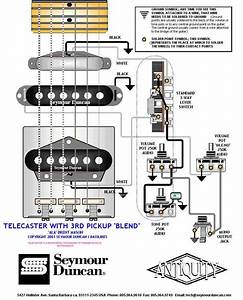 Guitar Wiring Drawings  Switching System  Telecaster  Seymour 3pickup Tele Blend 038 Pict